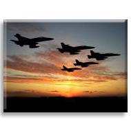 Jet uçakları